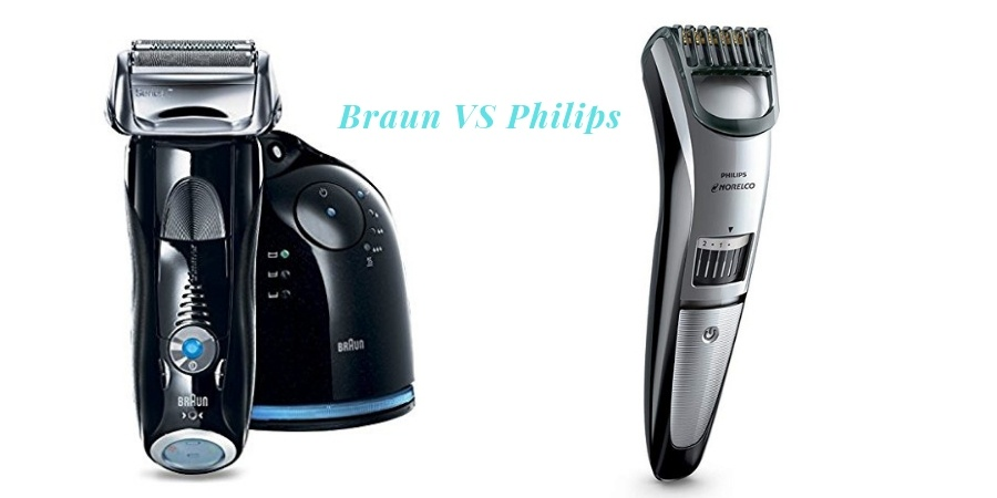 Braun VS Philips Shaver