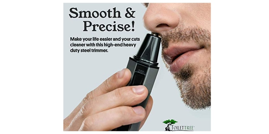 what does a nose hair trimmer do
